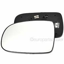 Left Passenger Side HEATED WING DOOR MIRROR GLASS For Vauxhall Corsa C 2001-06