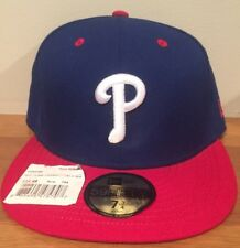 Philadelphia Phillies MLB New Era 59FIFTY Hat Cap MLB Sz 7 3/4  Fitted