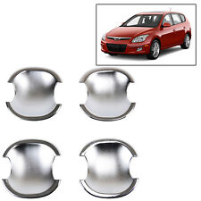 4PCS FIT FOR 2007~2010 HYUNDAI i30 CW ELANTRA CHROME DOOR BOWL INSERT COVER TRIM