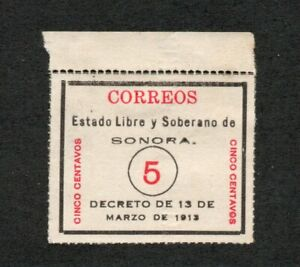 Mexico - Sc# 329 MNGAI / Emboss omitted        -        Lot 0721157
