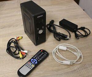 GOLIATH HARD DISC ESTERNO CON TELECOMANDO PER TV,500GB,LETTORE MULTIMEDIALE,USB