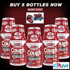 "RoboCoughâ""¢ Pack of 5 Bottles, 450mg Dxm Per Bottle - Berry Flavor!"