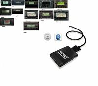 Bluetooth USB SDHC AUX MP3 12Pin Adapter passend für Skoda Octavia 2 1Z ab 2004