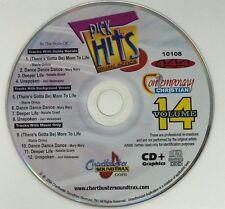 CHARTBUSTER KARAOKE PICK HITS MUSIC CONTEMPORARY CHRISTIAN VOL 14 CD+G 10108