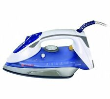 New Singer 5.22 Classic Finish Steam Iron, White/Blue -2200W Home Clothes Press
