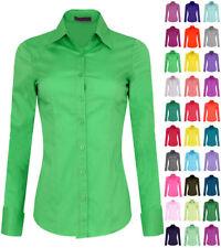Iron Puppy Long Sleeve  Skinny Button Down Stretch Shirtsth_(S~3XL)