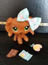 """Littlest Pet shop Chien Epagneul/ Petshop Spaniel Dog #  """"AUTHENTIC"""""""
