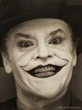 1988 Vintage JOKER Jack Nicholson Batman Movie Actor HERB RITTS Photo Art 16x20
