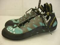 La Sportiva 10QTU Tarantulace Climbing Shoes Turquoise Women's 8.5 M Mens 7.5 41