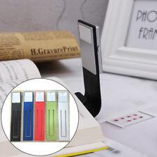 Portable Flexible Folding Led Clip On Reading Book Light Lamp For Reader Kind FG