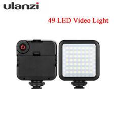 Ulanzi Mini 49LED Camera Phone Video Light Dimmable 800LM Photo Lamp for DSLR