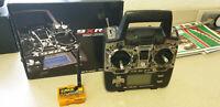 Turnigy PRO 9XR Transmitter Mode2 mit FPV Walkera transmitter module 2,4Gh