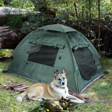 Dog Cat Camping Tents Pet Travel Bed Beach Tent Portable Water-Resistant Outdoor