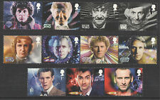 Doctor Who Great Britain Commemorative Stamps (2000s)