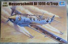 Trumpeter (02290) Messerschmitt Bf 109E-4/Trop in 1:32 Scale