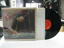 LA GUERRA DE LOS MUNDOS 2LP JEFF WAYNE 1978 GATEFOLD ENGLISH