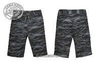 Under Armour Boardshort Reblek Printed 1290503 Black Stealth Gray Graphite 32