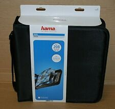 HAMA - WALLET - 208 CDS / DVDS/ BLU-RAYS – BLACK - C0351514 - FREE DELIVERY