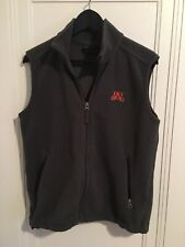 University Of Minnesota Golden Gophers Women's Lands End Vest - Size S (6-8)