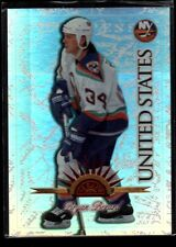 Bryan Berard /250 Universal Ice REFRACTOR RARE SP 1997-98 Leaf International 30