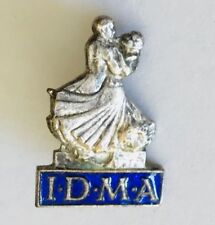 IDMA International Dance Music Awards Dancing Badge Pin Rare Vintage (H8)