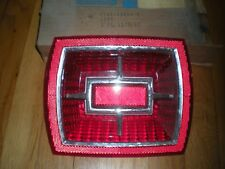 1966 FORD GALAXIE 500 XL TAIL LIGHT LENS W/O BACKUP C6AZ-13450-G