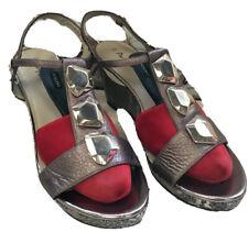 Portfolio heeled sandal, UK size 6.5