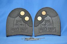 Cats Paw 4/8 Shoe Repair Men's Replacement Half Heel w/Nails-1 Pair- NEW Size 9