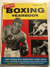 1957 Boxing HEAVYWEIGHT Champion FLOYD PATTERSON Sugar Ray Robinson ARCHIE MOORE