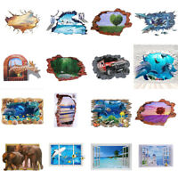 3D Removable Family DIY Sky Art Vinyl Wall Stickers Decal Mural Home Kids Decor