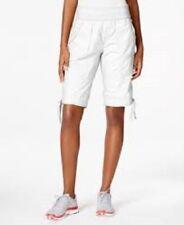 Calvin Klein Performance Cargo Mid-Length Shorts White Size Small