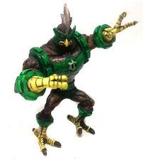 "BEN 10 Ultimate Alien Cartoon 6"" KICKING Hawk cattivo toy action figure rare"