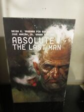 ABSOLUTE Y THE LAST MAN HC VOL 03 SEALED VERTIGO Brian K Vaughan HARDCOVER