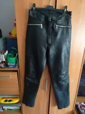 Harro Motorrad Lederhose vintage, biker leather pants vintage