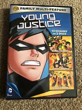 Young Justice: 12 Episodes (DVD, 2014, 3-Disc Set)