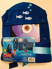 "Finding Dory Hooded Towel 22"" x 51"" 100% Cotton NWT (E)"