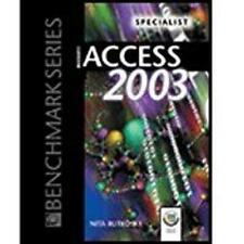Microsoft Access 2003: Specialist, Nita Rutkosky, New Book