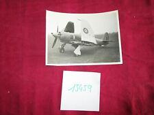 N°15459 / HAWKER FURY photo d'epoque au sol