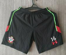 UNder Armour Southampton Black Training Football Shorts Soccer Mens Size S - M
