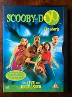Scooby Doo The Movie DVD 2002 Famiglia Caratteristica Commedia IN Snapper Case