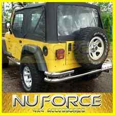 Jeep Wrangler YJ/TJ (1987-2006) Rear Bumper / Rear Nudge Bar