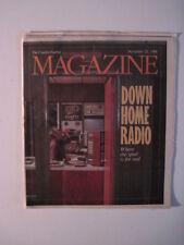 Louisville Courier Journal Magazine, 1988. WFLW- Monticello KY!  Maysville KY!