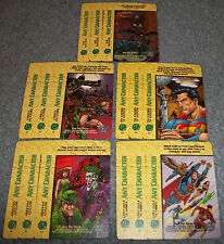 DC OVERPOWER ANY CHARACTER LOT OF 15 OPD CARDS - ARKHAM ASYLUM, URBAN HUNTERS ..