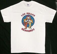 LOS POLLOS HERMANOS T-SHIRT Medium M Breaking Bad Restaurant Walter White >NEW<