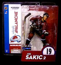 McFarlane Sports NHL Hockey Series 9 Joe Sakic 2 Variant Action Figure Avalanche