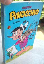 1989 'SUPER PINOCCHIO' Albo n° 1 Fumetto