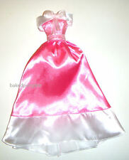 Barbie Fashion Signature Pink Gown/Dress Costume For Barbie Dolls dn62
