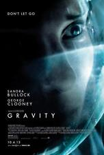 GRAVITY DOUBLE SIDED ORIGINAL MOVIE film POSTER Style B Alfonso Cuaron Rare