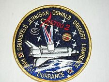 Space Shuttle Endeavor Flight 68 Astro 2 Round Embroidered Patch Nasa Crew