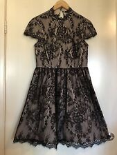 Portmans Lace Knee Length Dress Size 12